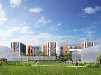 Проект застройки жилого комплекса